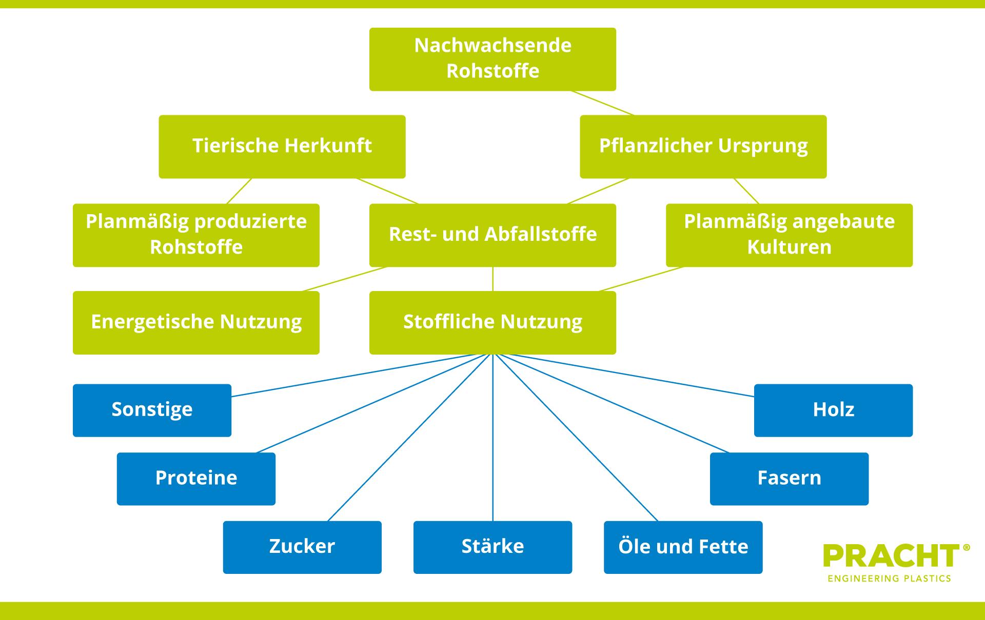 Abbildung 1: Nutzung von nachwachsenden Rohstoffen. Erschließung alternativer Stoffe für Polymerproduktion